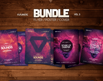 Futuristic Flyer Bundle Vol 3