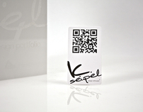 Personal portfolio and card