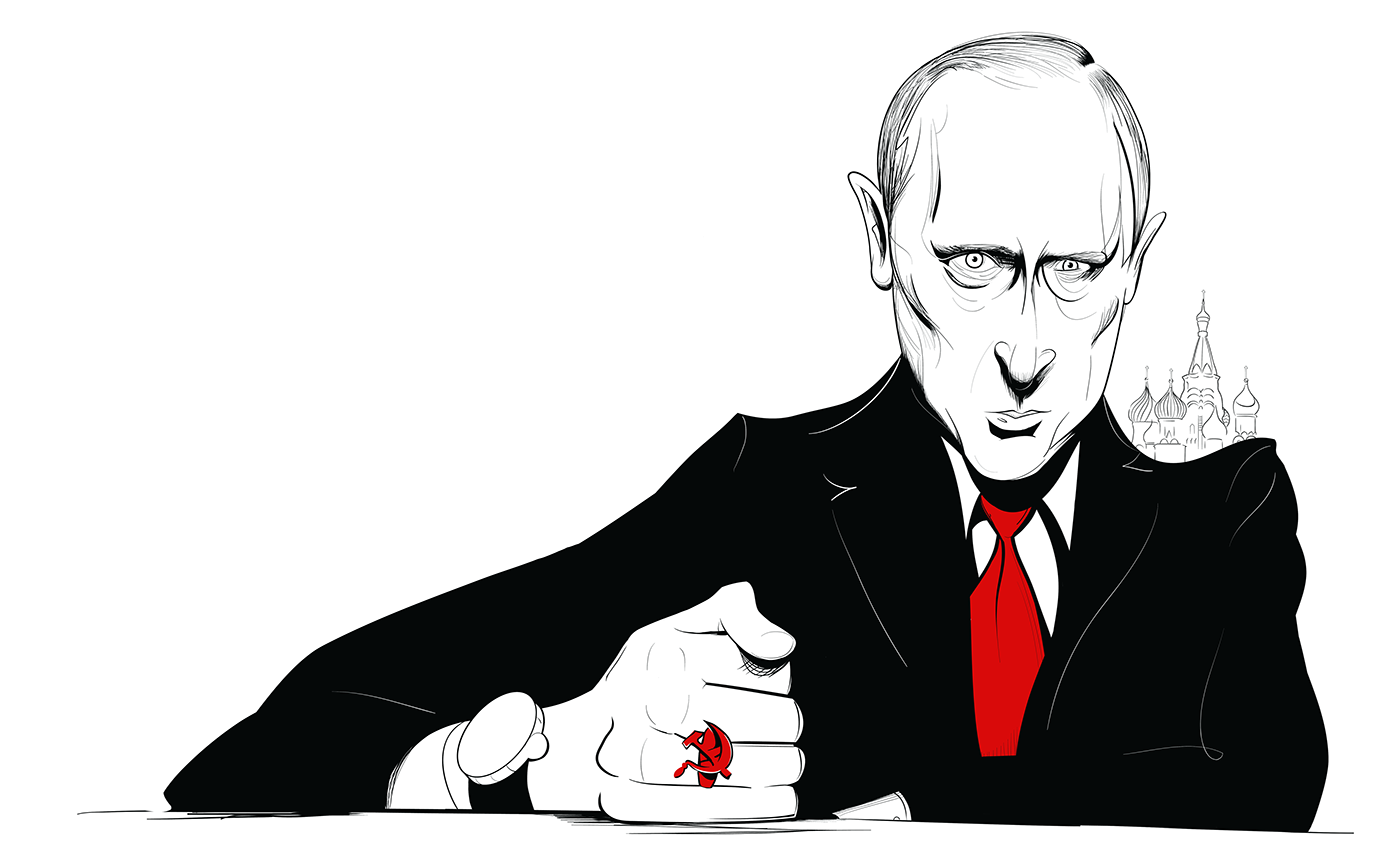 Vladimir Putin, The Globe and Mail