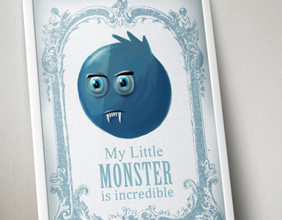 My Little Monster Poster