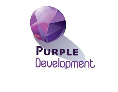 purple development logo