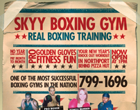 Skyy Boxing Gym - Fight Poster
