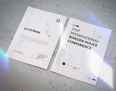 Brochure for International Border Police Conference