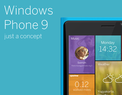 Windows Phone 9 concept