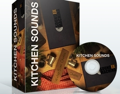 Foley Library | Kitchen Sounds