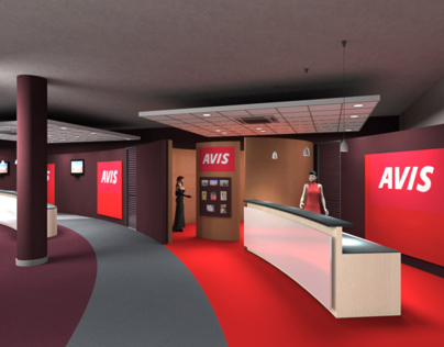 Interior Design For Car Rental Office Avis -Nice