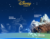 Disney Parks Website Concepts