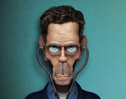 House caricature