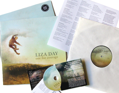 LIZA DAY ALBUM ART