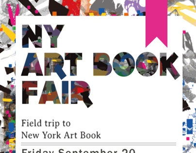 Book Fair Poster Design with sign up sheet