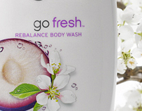 Go Fresh: Plum & Sakura Blossom Body Wash - by TOGASHI