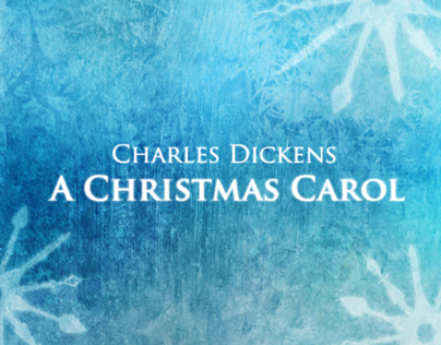 A Christmas Carol Book Cover & Dust Jacket