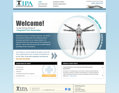 IPA Website - In Progress