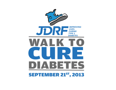 JDRF CURE DIABETES LOGO