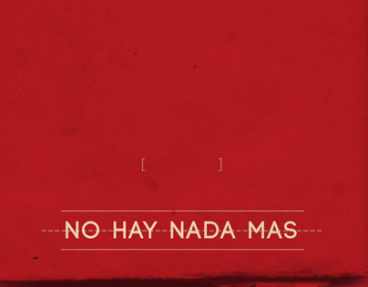 NOTES // Part II - No Hay Nada Mas