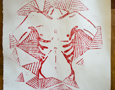 Woodcut - Xylography