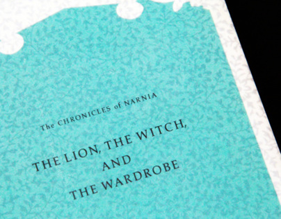 Book Design: The Lion, The Witch, And The Wardrobe