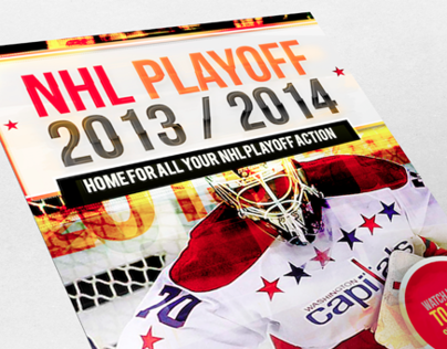 NHL PlayOff Sample Poster