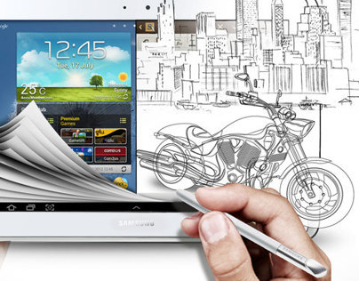 Samsung Galaxy Note 10.1's launch