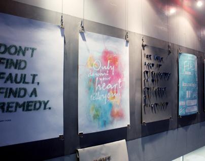 Wisdom - Handmade Typography