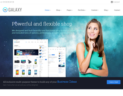 The Galaxy - Responsive Multipurpose Template