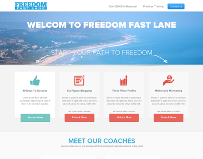 Freedom Fast Lane Members Area