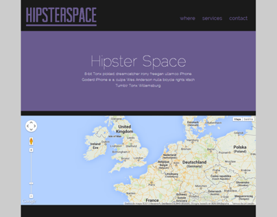Hipsterspace Template