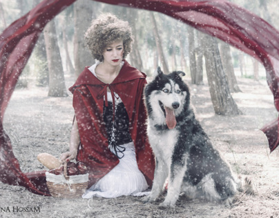 Little Bloodred Riding Hood