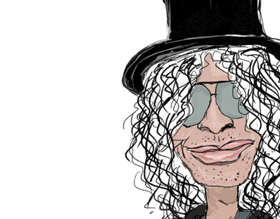 Slash caricature