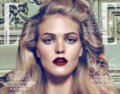 Erin Heatherton for ELLE Russia 12/13