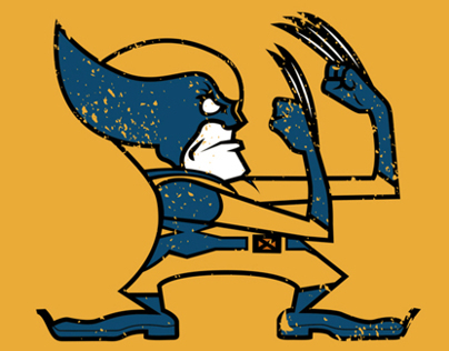 The Fighting Wolverines!