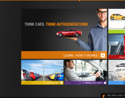 Website Autogeneration