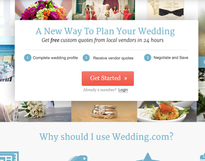 Wedding.com Homepage