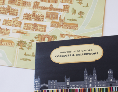 Oxford University Map