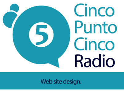 Web Site Cinco Punto Cinco Radio