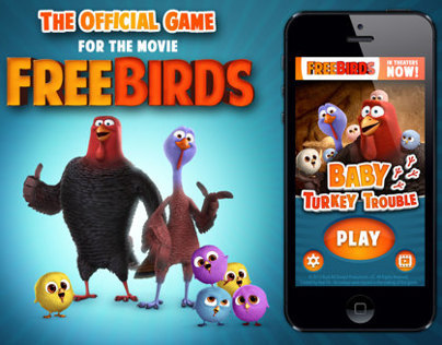 Free Birds Movie - Mobile App