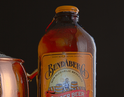 Ginger Beer Product Shoot