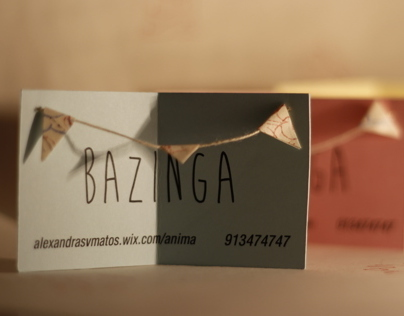 Business Card Bazinga
