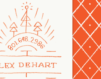 Alex Dehart Business Card