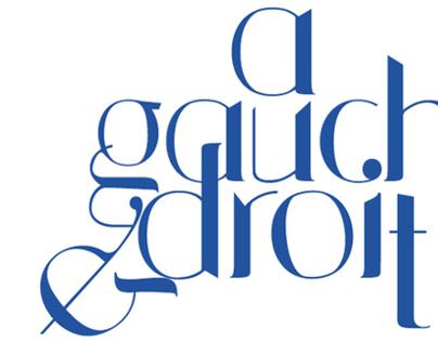 Vojens typeface