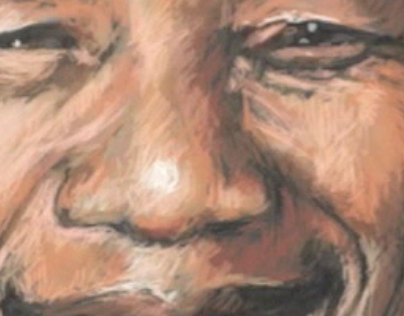 DRAWING MANDELA IN 28 MINUTES