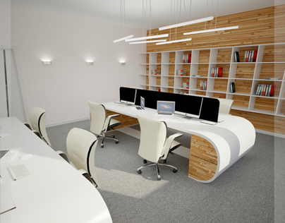 Office interior visualisation