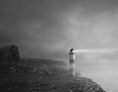 Scotlands dreams again in b&w
