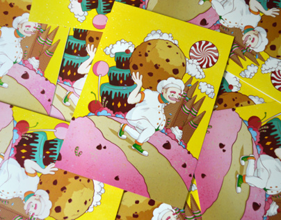 COOKYLAND - GREETING CARD