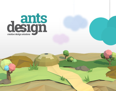 Antsdesign website