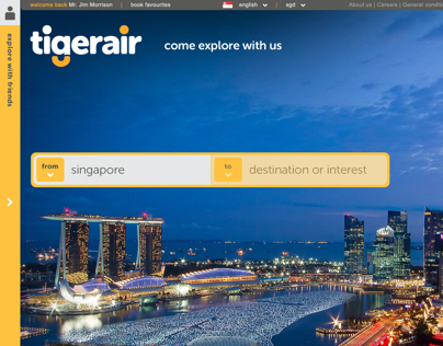 Tigerair - Pitch