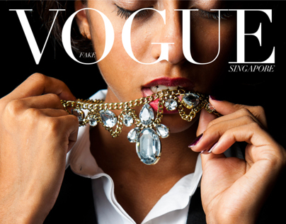 FAKE Vogue Singapore - Bright Lights Big City
