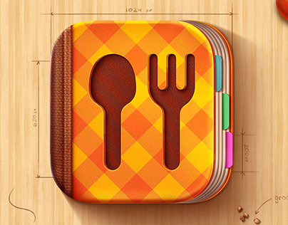 iOS Icon for Cook Book app