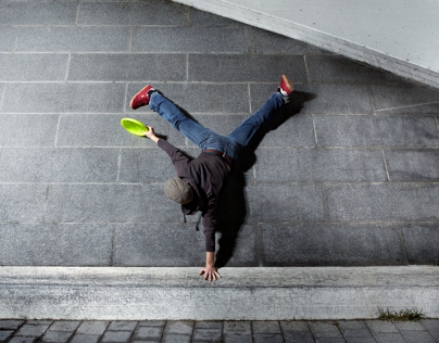 Urban Frisbee