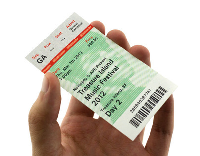 Ticketmaster Ticket Redesign